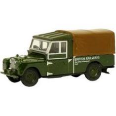 Imagem de Miniatura - 1:76 - Land Rover 109 Canvas British Railways - Oxford