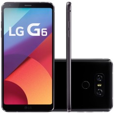 Smartphone LG G6 LGH870I 64GB Qualcomm Snapdragon 821 13,0 MP Android 7.0 (Nougat) 3G 4G Wi-Fi