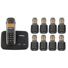 Telefone sem Fio Intelbras com 8 Ramais TS 5150 + 8