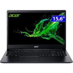 """Notebook Acer Aspire A315-23-R3L9 AMD Ryzen 7 3700U 15,6"""" 8GB SSD 256 GB Windows 10 Bluetooth"""