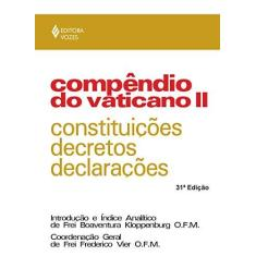 Compendio do Vaticano II - Vier, Frederico - 9788532601520