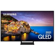"Imagem de Smart TV QLED 85"" Samsung 4K HDR QN85Q70AAGXZD Frequência 120 Hz"