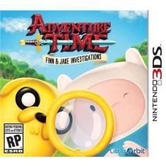 Jogo Adventure Time: Finn & Jake Investigations Little Orbit Nintendo 3DS