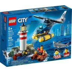 Imagem de Lego City Polícia De Elite Captura No Farol 189 Peças 60274