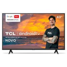 """Smart TV LED 43"""" TCL 4K 43P615 3 HDMI"""