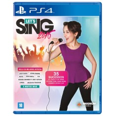 Jogo Let's Sing 2016 PS4 Maximum Games