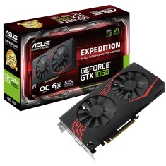 Placa de Video NVIDIA GeForce GTX 1060 6 GB GDDR5 192 Bits Asus EX-GTX1060-O6G