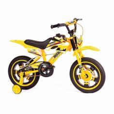 Imagem de Bicicleta Unitoys Lazer Aro 16 Bike Moto Cross