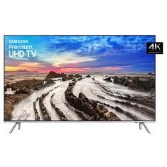 "Smart TV LED 55"" Samsung 4K HDR UN55MU7000 4 HDMI"