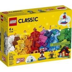 Imagem de Lego Caixa Classic 11008 Blocos Casas 270 Peças C/ Livro Ideias