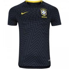 25ba7398f Camisa Brasil 2018 19 sem Número Treino Masculino Nike