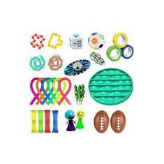 Imagem de 29pcs/set Pop Autism Relief Anxiety Stress Stress Bubble Fidget Toy
