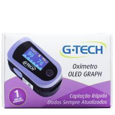 Imagem de Oxímetro de Dedo Digital Led com Curva Profissional - G-Tech