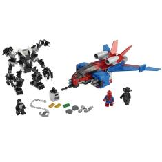 Imagem de LEGO Super Heroes Marvel - Spiderjet vs. Robo Venom