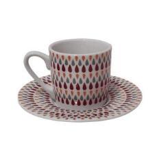 Jogo de xícaras café 90ml 12 peças - Hauskraft JGXC022