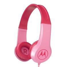 Headphone com Microfone Motorola Squads 200 Gerenciamento de chamadas