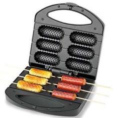 Imagem de Crepeira Pratic Crepe & Hot Dog Mondial CP-01 Prepara 6 Crepes com 850W de Potência -