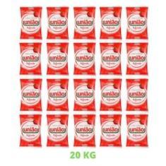 Imagem de Açúcar Cristal Refinado União Pacote 1kg Mais Comum - 20Unid