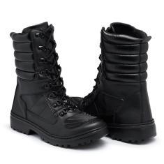 Imagem de Bota Coturno Kilser Shoes Militar Motociclista Cano Médio