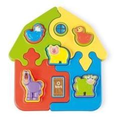 Imagem de Puzzle Mania Fazenda - Ta Te Ti Brinquedos 0814