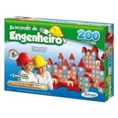 Imagem de Brincando De Engenheiro 200 Peças - Xalingo
