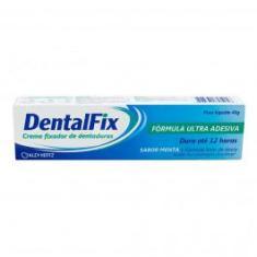 Imagem de DentalFix Creme Fixador Para Dentaduras Sabor Menta 40g