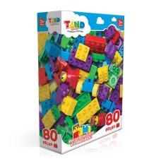 Imagem de Blocos De Montar Com 80 Peças Tand Toyster