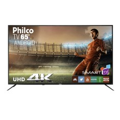 "Smart TV LED 65"" Philco 4K PTV65A11DSGWA 3 HDMI"