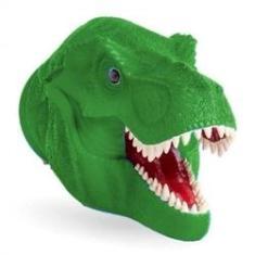 Imagem de Fantoche Cabeça De Dinossauro Verde 19,5cm 341 - Super Toys