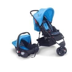 Imagem de Carrinho de Bebê Travel System com Bebê Conforto Baby Style Urban