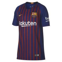 Camisa Infantil Barcelona I 2018 19 Torcedor Infantil Nike 486c5253ad0