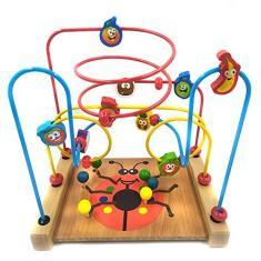 Imagem de Brinquedo Educativo Aramado Montanha Russa Joaninha