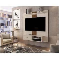 Imagem de Painel para Tv até 55 Polegadas Pérola Caramelo Jb Bechara