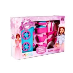 Imagem de Cozinha Brinquedo Das Princesas Gourmet 10 Peças