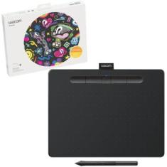 Mesa Digitalizadora Wacom Média Bluetooth Preta Intuos - CTL6100WLK0