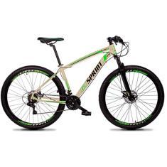 Imagem de Bicicleta Mountain Bike GT SPRINT MTB 21 Marchas Aro 29 Freio a Disco Mecânico Volcon 2021