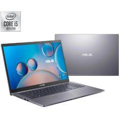 "Imagem de Notebook Asus X515JA-EJ1045T Intel Core i5 1035G1 15,6"" 8GB SSD 512 GB 10ª Geração Windows 10 Bluetooth"