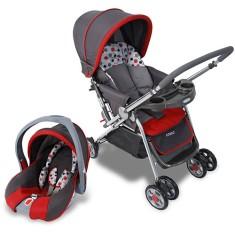 Carrinho de Bebê Travel System com Bebê Conforto Cosco Reverse