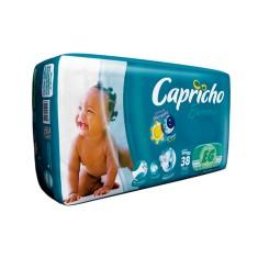 Fralda Capricho Bummis Tamanho XG Mega 38 Unidades Peso Indicado 13 - 15kg