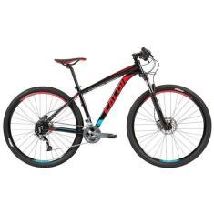Bicicleta Mountain Bike Caloi 27 Marchas Aro 29 Suspensão Dianteira Freio a Disco Hidráulico Explorer Expert 2019
