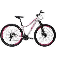Imagem de Bicicleta Saidx Lazer 21 Marchas Aro 29 Suspensão Dianteira Freio a Disco Mecânico Ksw