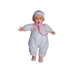 Imagem de Boneca Bebê Fala Neném Interativa Sid-Nyl