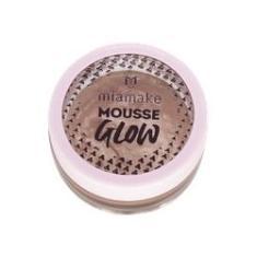Imagem de Iluminador Mousse Glow Maquiagem Pele Mia Make Rose Gold