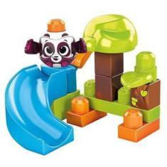 Imagem de Blocos De Montar Fisher Price Tobogã Dos Pandas - Mattel