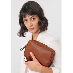 Imagem de Bolsa Capodarte Logo Caramelo Capodarte 4604002 feminino
