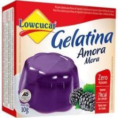 Imagem de Gelatina Amora 10G Lowçucar