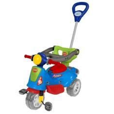 Imagem de Carrinho De Passeio Ou Pedal Infantil Triciclo Avespa - Maral - Colorido