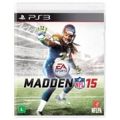 Jogo Madden NFL 15 PlayStation 3 EA
