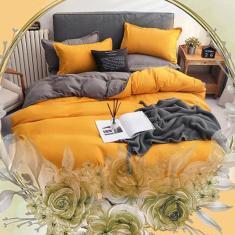 Imagem de Jogo de cama casal comum completo 7 peças com edredom