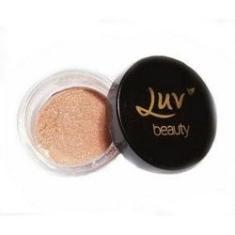 Imagem de Iluminador Em Po Star Glow Cor Rosê Luv Beauty Maquiagem Profissional